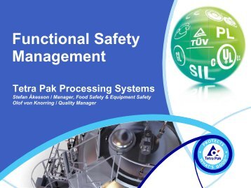 Functional Safety Management - Siemens