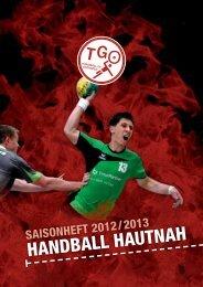 Saisonheft 2012/2013 - TG Osthofen Handball eV