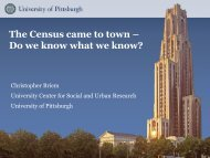 The Census came to town – Do we know what we know?