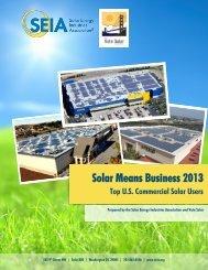 Solar Means Business 2013 - Alta Energy