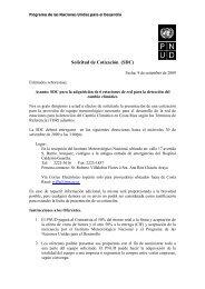 Solicitud de Cotización (SDC) - Instituto Meteorológico Nacional