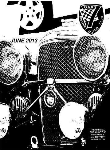 Jun - Sevenoaks & District Motor Club