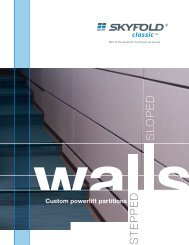 Stepped and Sloped Wall Brochure