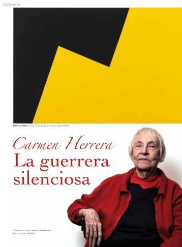 Carmen Herrera -  Tendencias del Mercado del Arte