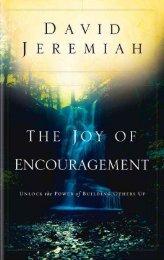 mr. encouragement - Dr. David Jeremiah