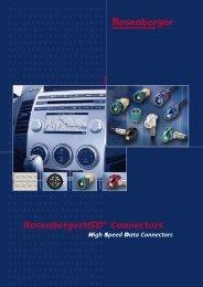 RosenbergerHSD® Connectors