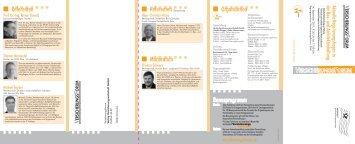 Bonusprogramm Organisation Referenten Moderation