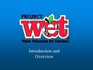 Project WET - Iowa Academy of Science