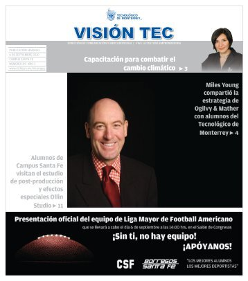 Visión 109 - Santa Fe - Tecnológico de Monterrey