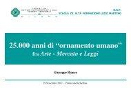 fra Arte - Mercato e Leggi a cura di Giuseppe Bianco