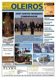 Edição de Julho e Agosto de 2011 - Jornal de Oleiros