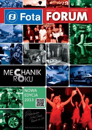 Nowa edycja 2013 - Fota