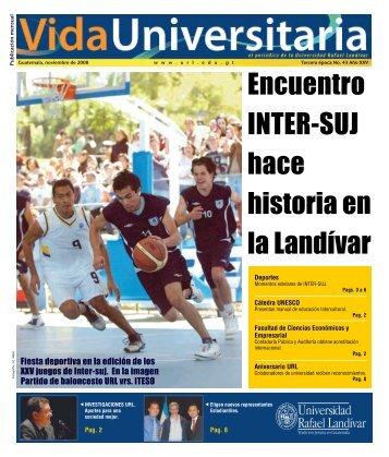 Noticias URL - Universidad Rafael Landívar