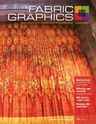 Fabric Graphics, January February 2009, Digital Edition - Specialty ...