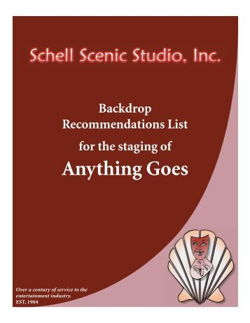 Anything Goes - Schell Scenic Studio, Inc.