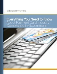 Payment Card Industry Compliance in Government - Navigator