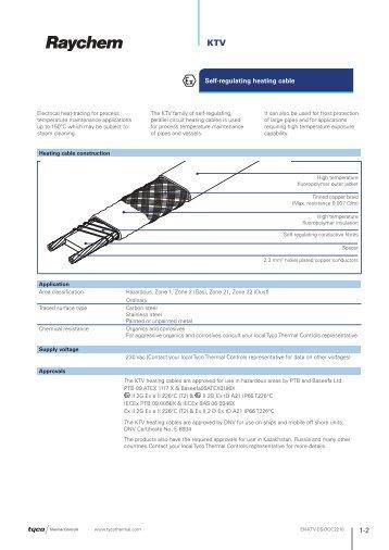 KTV - Tyco Thermal Controls
