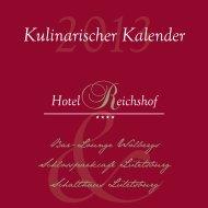 Kulinarischer Kalender (PDF) - Bar-Lounge Wolbergs