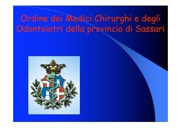 Seminario sulla deontologia- Dott. Arru Dott ... - OMCeO Sassari