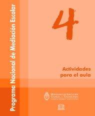 ACTIVIDADES PARA EL AULA 1 - Ministerio de Educación