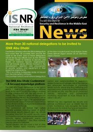 More than 30 national delegations to be invited to ISNR Abu Dhabi