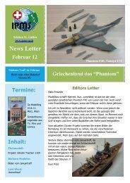 Newsletter Februar 2012 - Ipms-sg.ch