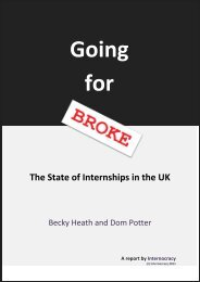 The State of Internships in the UK - Adapt