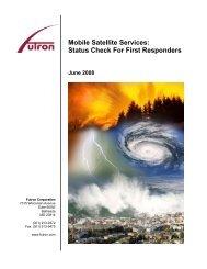 Mobile Satellite Services - Futron Corporation