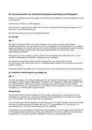 KL overenskomsten om individuel udviklingsplan - Dansk ...