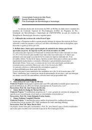 CEPG - Departamento de Microbiologia, Imunologia e Parasitologia