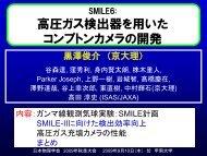 SMILE6: 高圧ガス検出器を用いた コンプトンカメラの開発