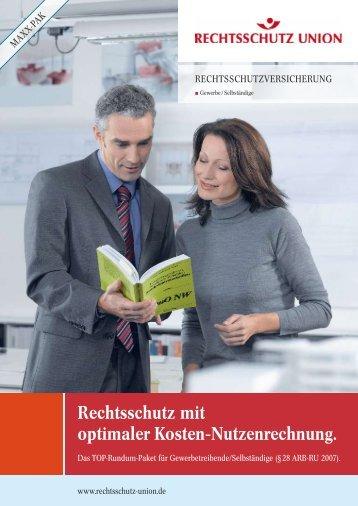 MAXXPAK der Rechtsschutz Union - Versicherungsmakler Norbert ...