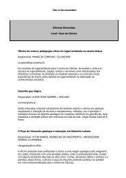 Oficinas EnsinoGeo - Meta Marketing e Eventos