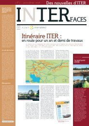 Interfaces n° 7 - iter france