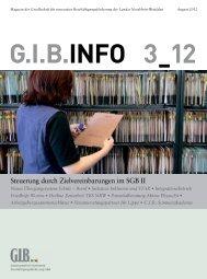 Steuerung durch Zielvereinbarungen im SGB II - Dr. Bruno Kaltenborn