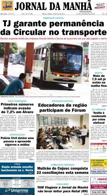 Educadores da região participam de Fórum - Jornal da Manhã