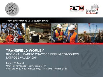 Type Heading Here - Transfield Worley