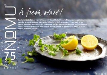 NoMU Recipe Cards Vol.75 A Fresh Start, January [694 KB]