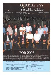 single pages:Layout 1.qxd - Cardiff Bay Yacht Club