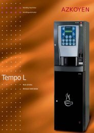 Tempo L - Vendwest Vending Machines