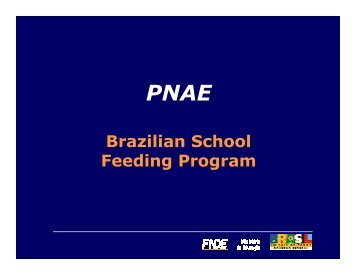 Brazilian School Feeding Program