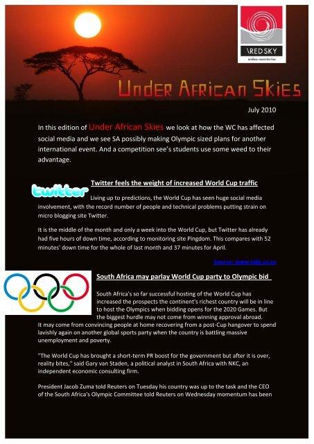 Under African Skies 06.10.pdf - Red Sky