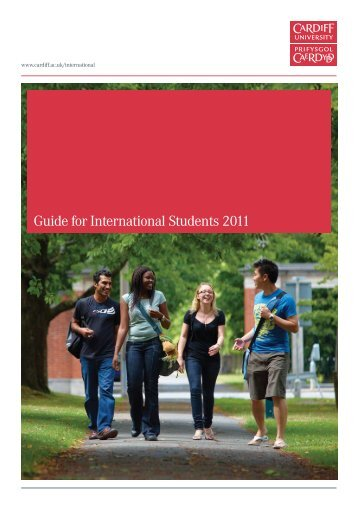 Guide for International Students 2011 - Cardiff Law School