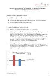 mehrwert-personal Studie HR-Qualifizierung - RAUEN Coach ...