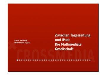 Präsentation Armin Schroeder - MGM