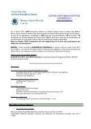 FEVRIER 2011 - Le Pacte Mondial