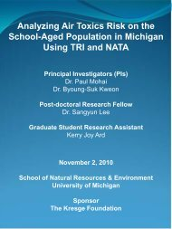 Analyzing Air Toxics Risk on the School-Aged - ChemicalRight2Know