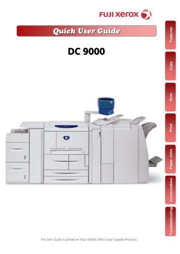Fuji Xerox docucentre C4470 Manual