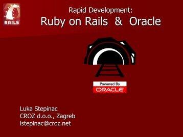 110_Stepinac Ruby on Rails.pdf - HrOUG