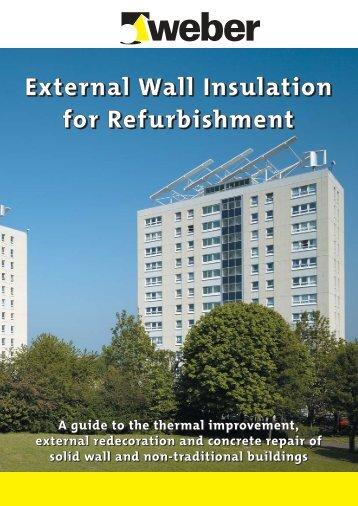 External Wall Insulation For Refurbishment - Weber Ireland